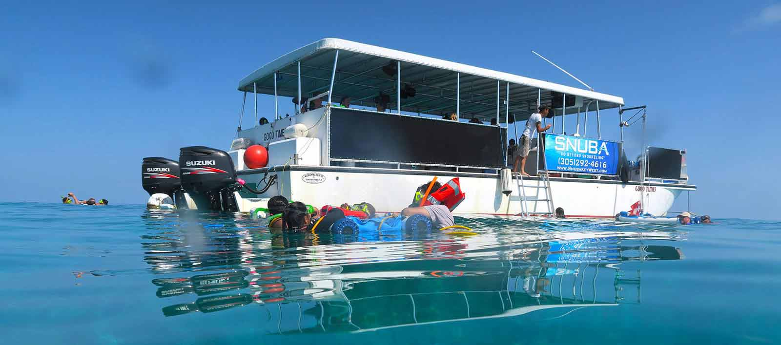 Key West Snorkeling, SNUBA, Scuba Diving Excursions